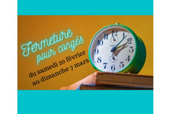 Le Comptoir d'Ernest est en congés du samedi 22 février au dimanche 7 mars chez votre traiteur Comptoir d'Ernest (Rouen)