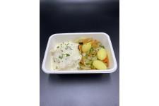 Blanquette de la mer, poêlée de légumes chez votre traiteur Comptoir d'Ernest (Rouen)