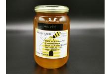 """Miel artisanal liquide """"d'été"""" pot de 500 gr chez votre traiteur Comptoir d'Ernest (Rouen)"""