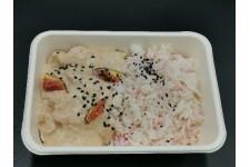 Émincé de poulet sésame-figue et son riz rose chez votre traiteur Comptoir d'Ernest (Rouen)