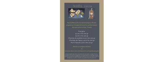 Commandez votre foie gras pour Noël au Comptoir d'Ernest traiteur en livraison et à emporter